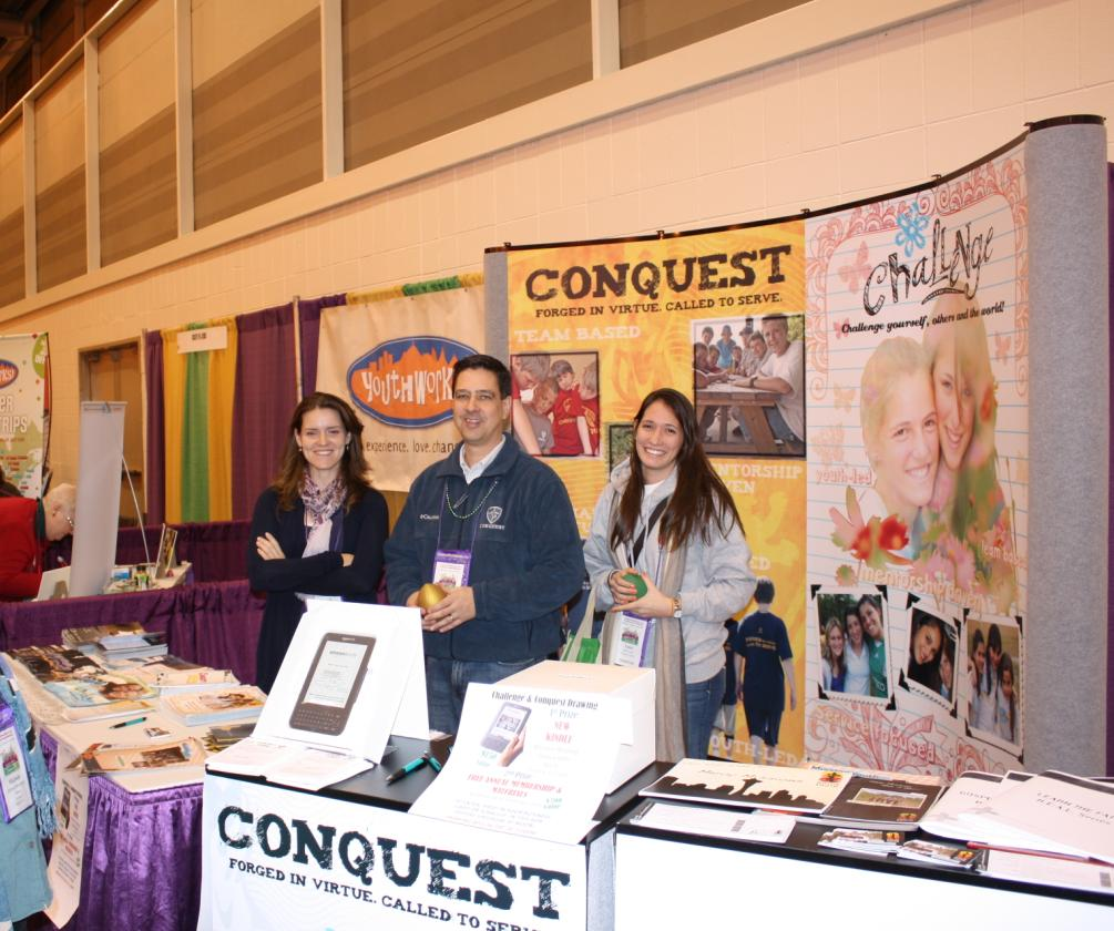 Conquest and Challenge Attend the NFCYM Conference
