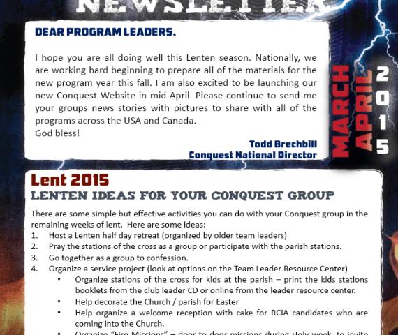Mar-Apr 15 Newsletter