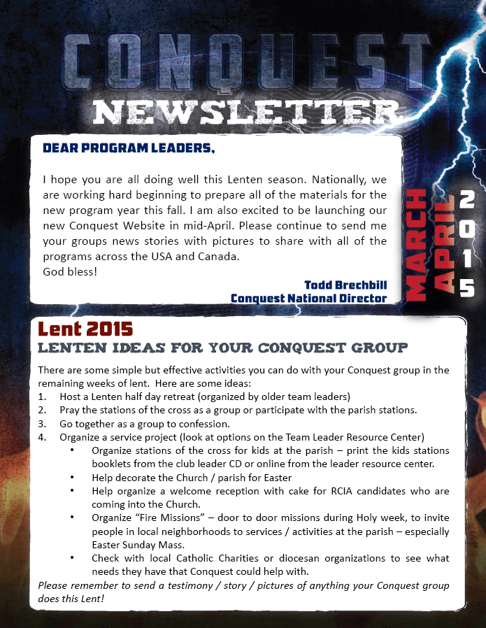 Mar-Apr 15 Newsletter