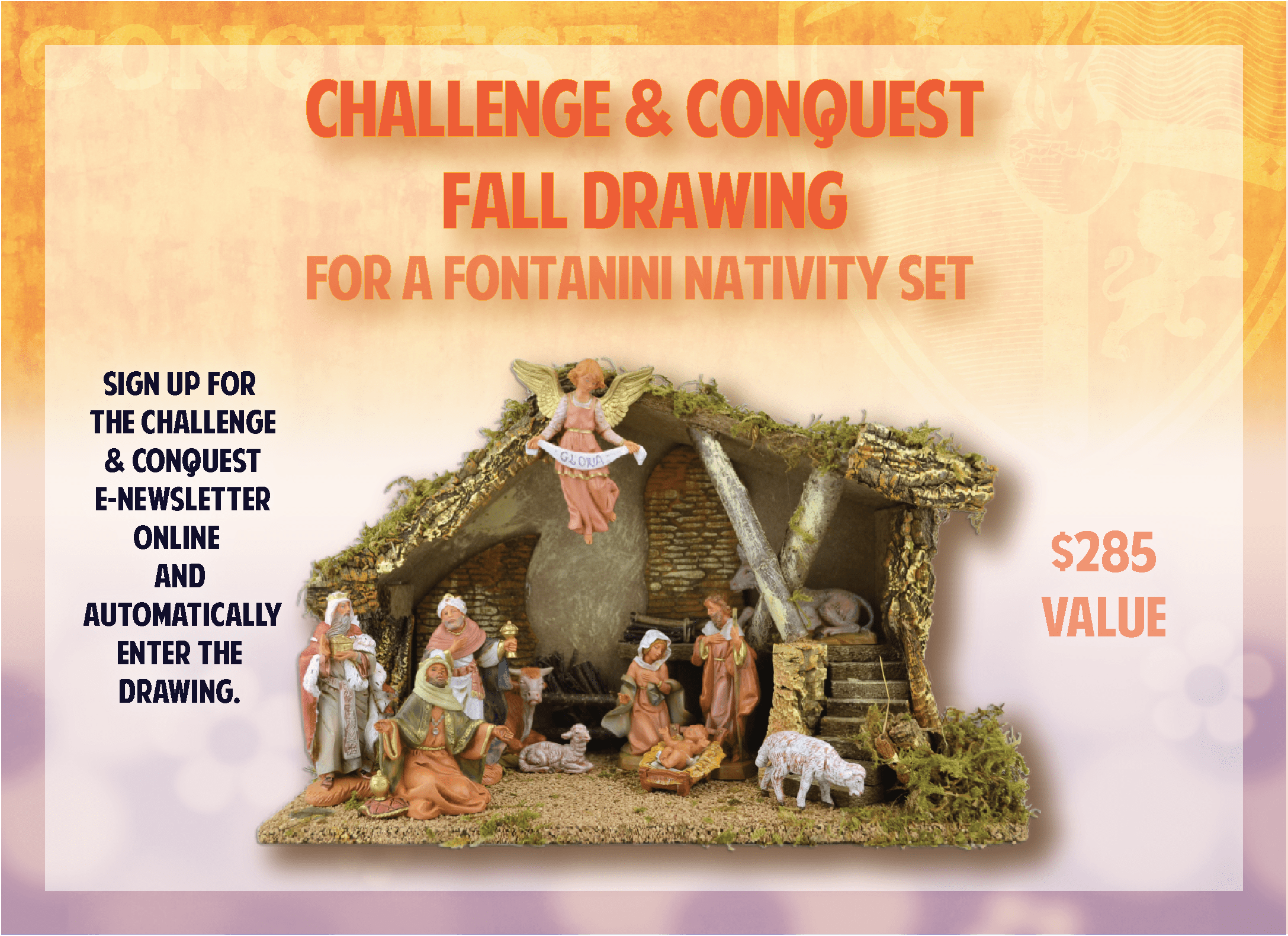 Nativity Raffle Websites