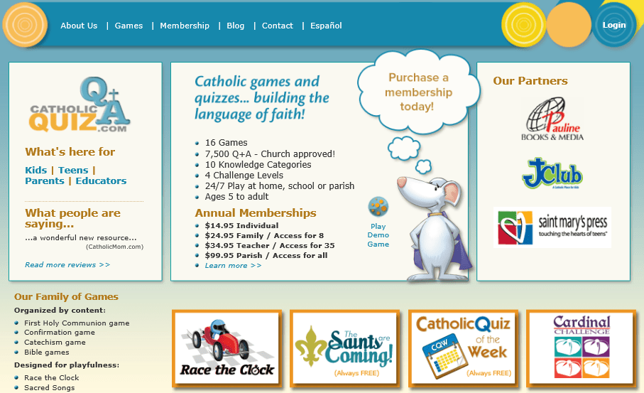 catholic quiz for youth pdf