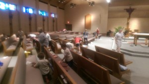 Conquest cleaning Holy week