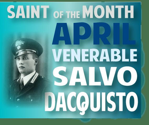 Saint of MonthSalvo