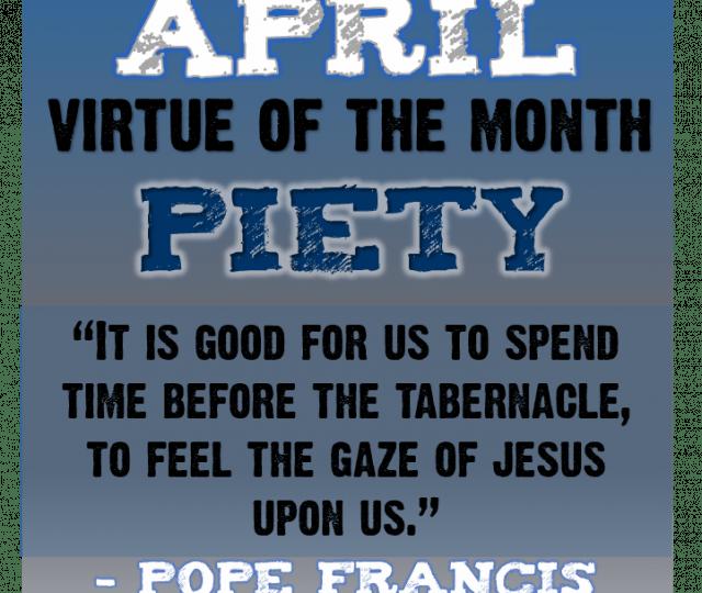 april conquest virtue