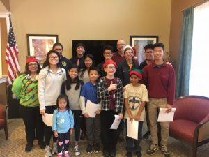 Nursing Home Carols - December 2017